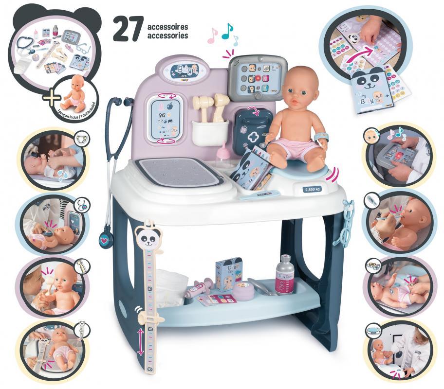SMOBY Baby Nurse Care Center s příslušenstvím