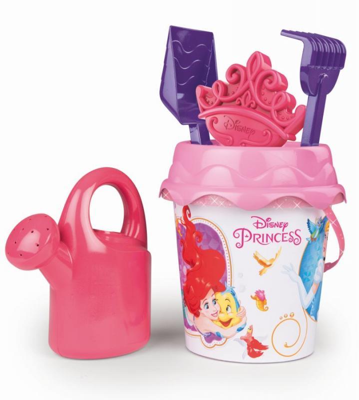 Smoby Kyblíček Disney Princess s konvičkou a příslušenstvím