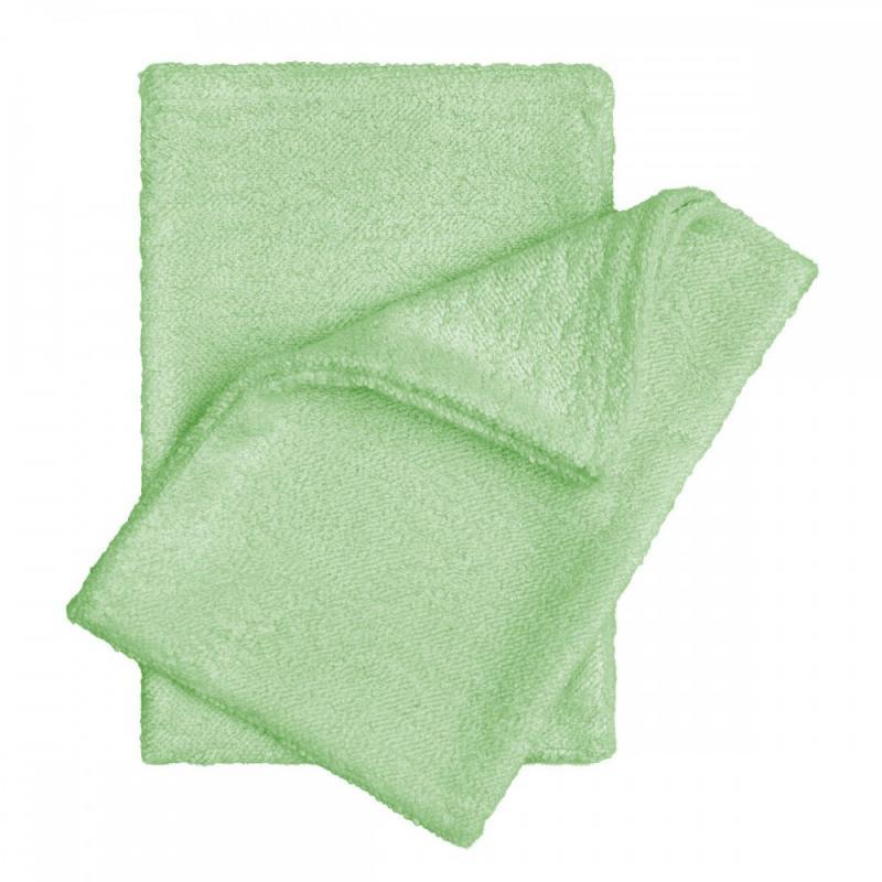 T-TOMI Bambusové žínky - rukavice, green / zelená