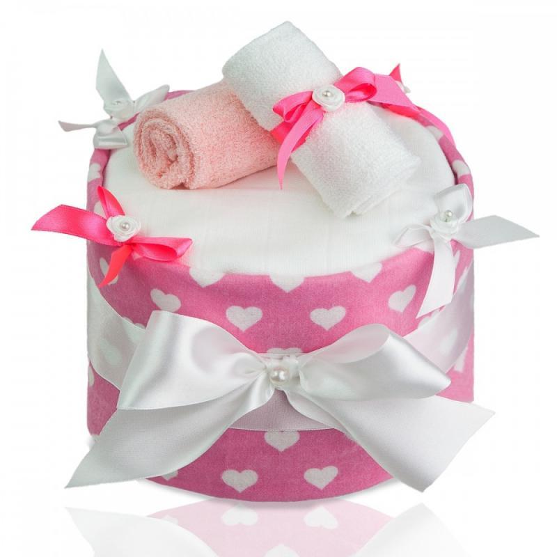 T-TOMI Plenkový dort, large hearts /velká srdíčka