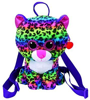 Ty Meteor Gear backpack DOTTY - multicolor leopard 25 cm