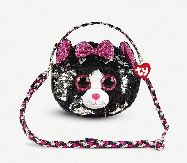 Ty Meteor Fashion Sequins kabelka KIKI - kočka