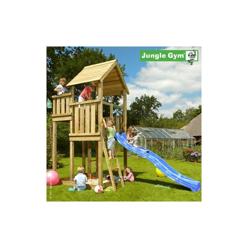 VLADEKO Dětské hřiště Jungle Palace se skluzavkou