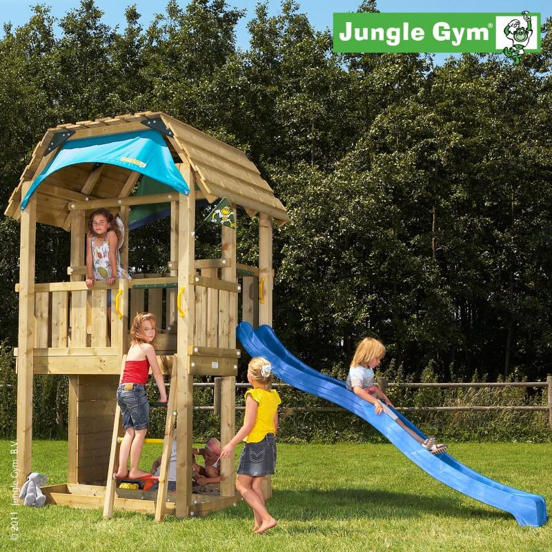 VLADEKO Dětské hřiště Jungle Barn se skluzavkou