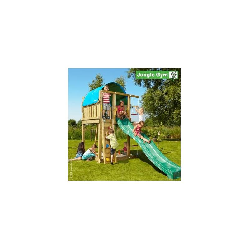 VLADEKO Dětské hřiště Jungle Villa se skluzavkou