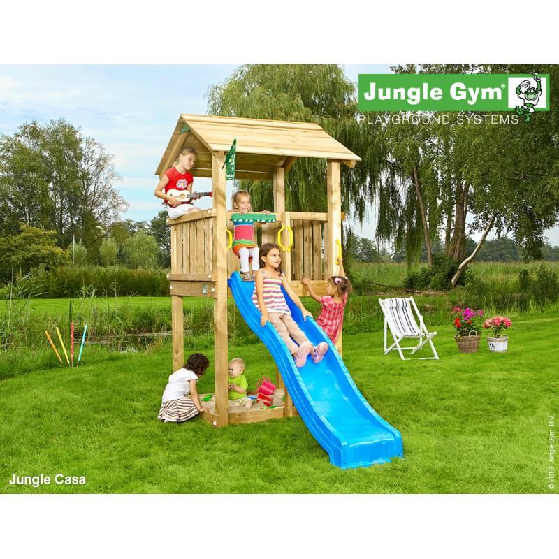 VLADEKO Dětské hřiště Jungle Casa se skluzavkou