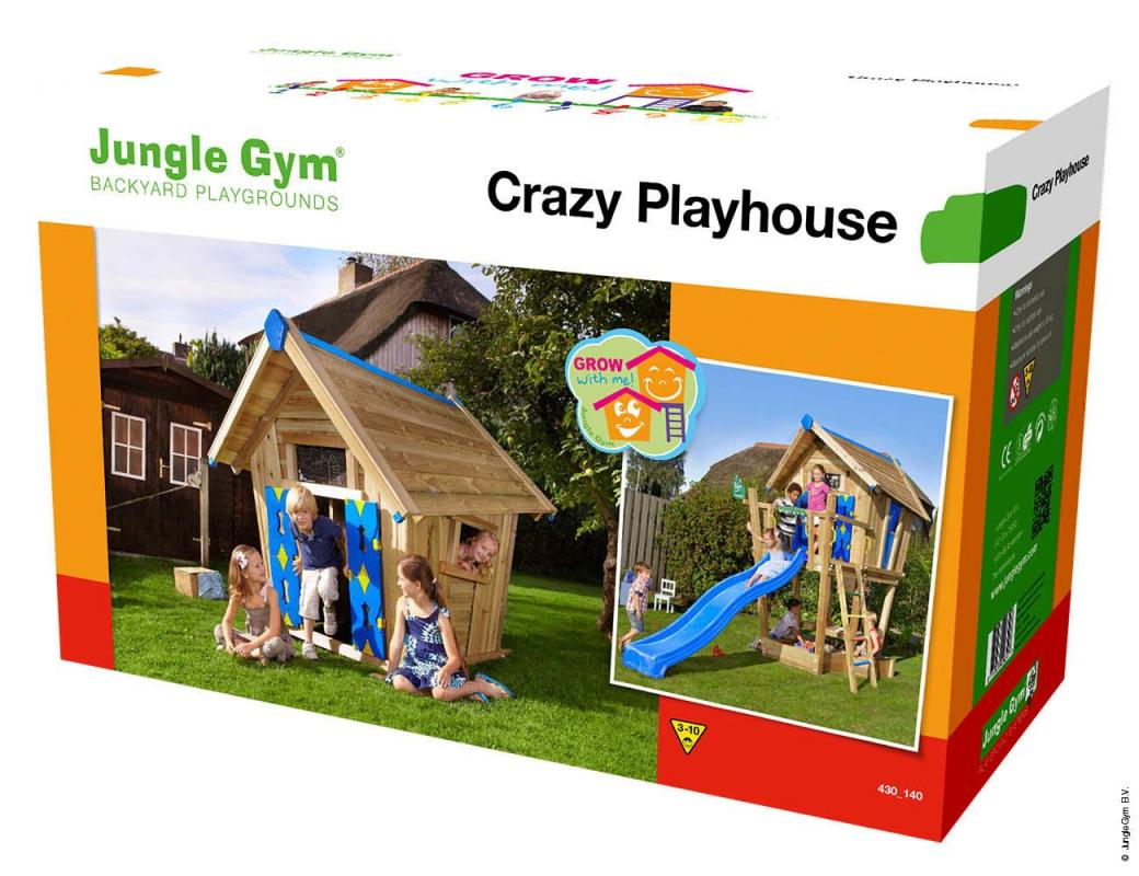 VLADEKO Jungle Dětský domek Crazy Playhouse CXL