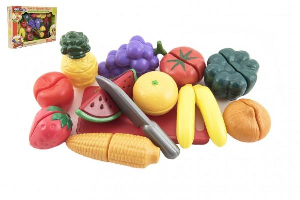Krájecí ovoce a zelenina s nádobím plast 25ks