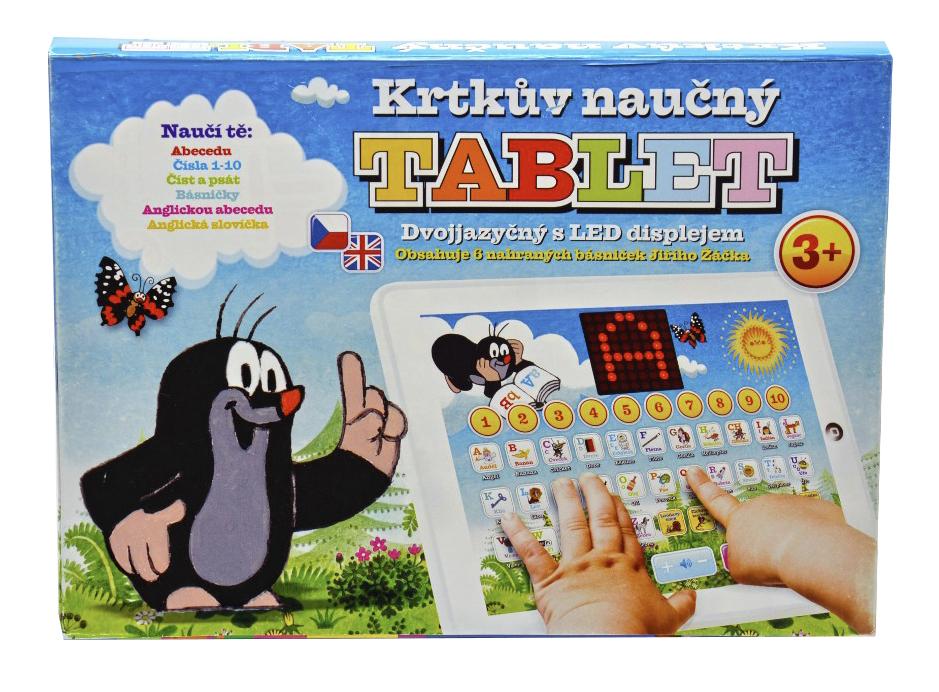 TEDDIES Krtkův naučný tablet