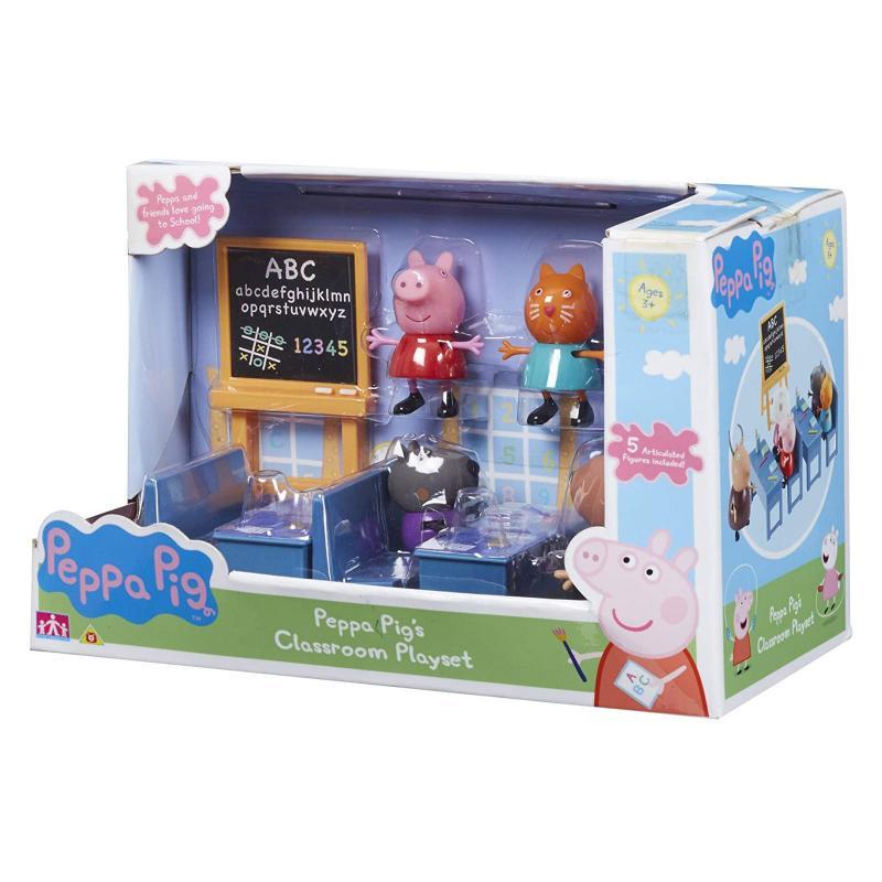 TEDDIES PEPPA PIG - školní třída