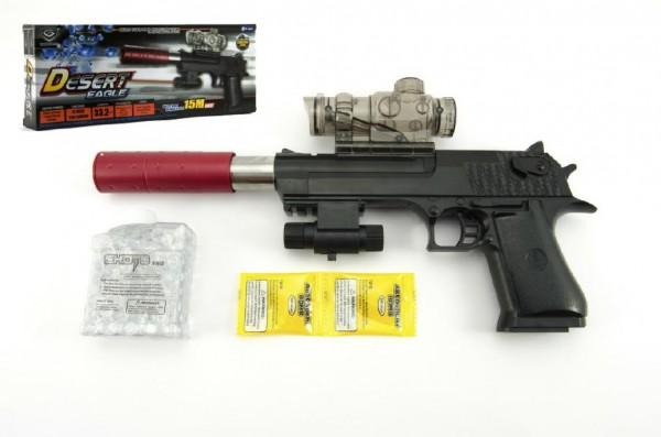 Teddies pistole, 33 cm na vodní kuličky