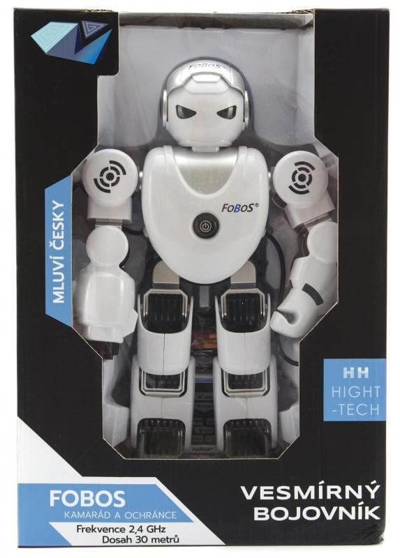 Teddies Robot RC plast 40cm CZ design