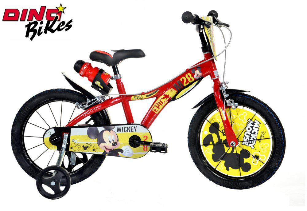 """Dino Bikes Dětské kolo Mickey Mouse 16"""""""