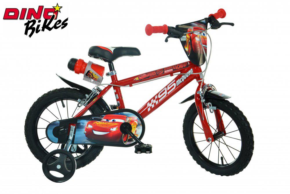 """Dino Bikes Dětské kolo Cars 16"""""""