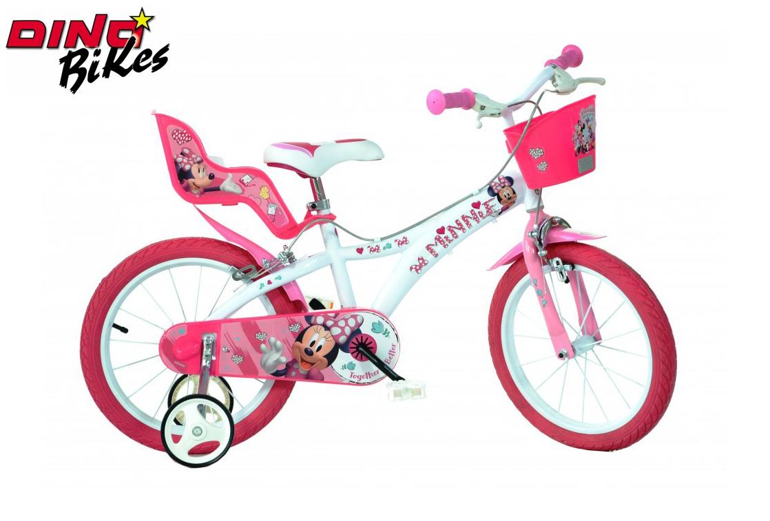 """Dino Bikes Dětské kolo Minnie 16"""""""