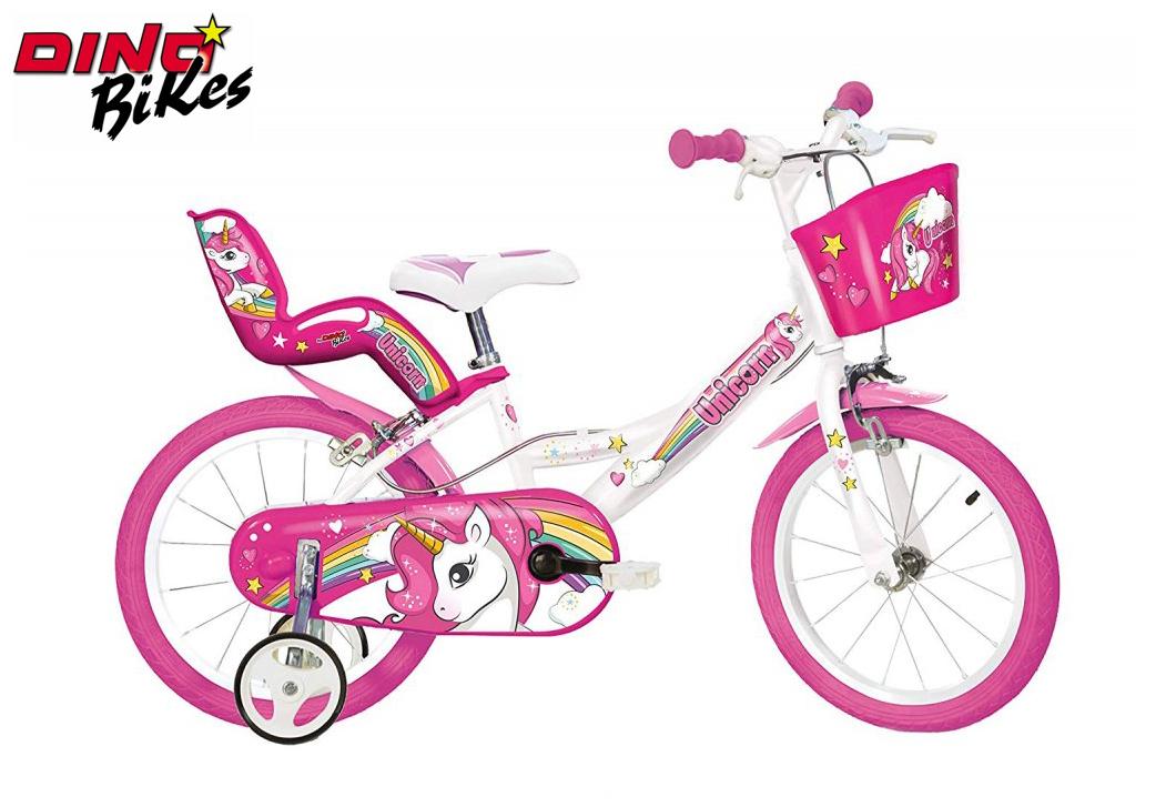 """Dino Bikes Dětské kolo Jednorožec 16"""""""
