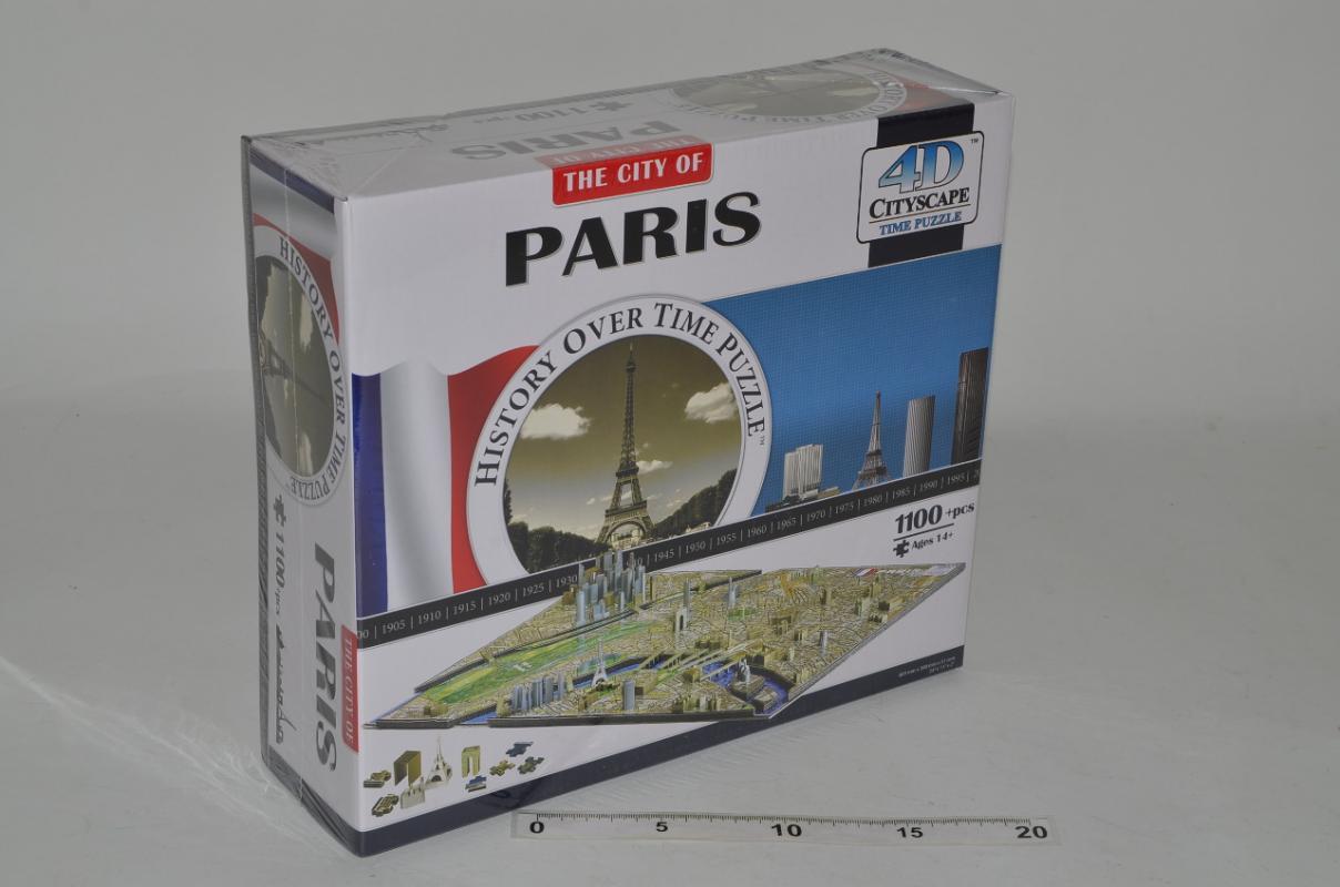 Wiky 4D puzzle Paříž