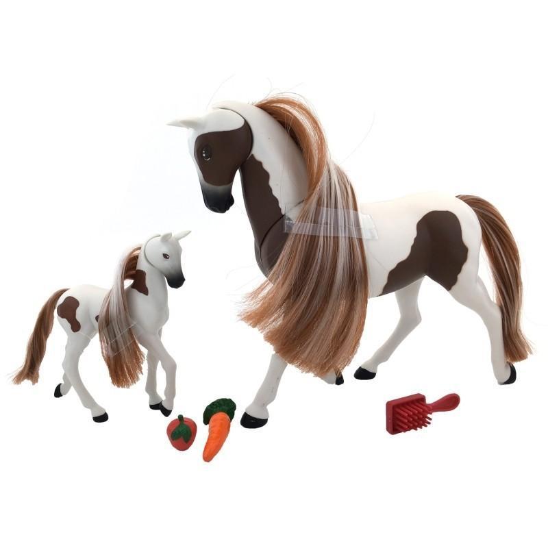 Wiky Kůň s hříbětem 18 cm, více druhů