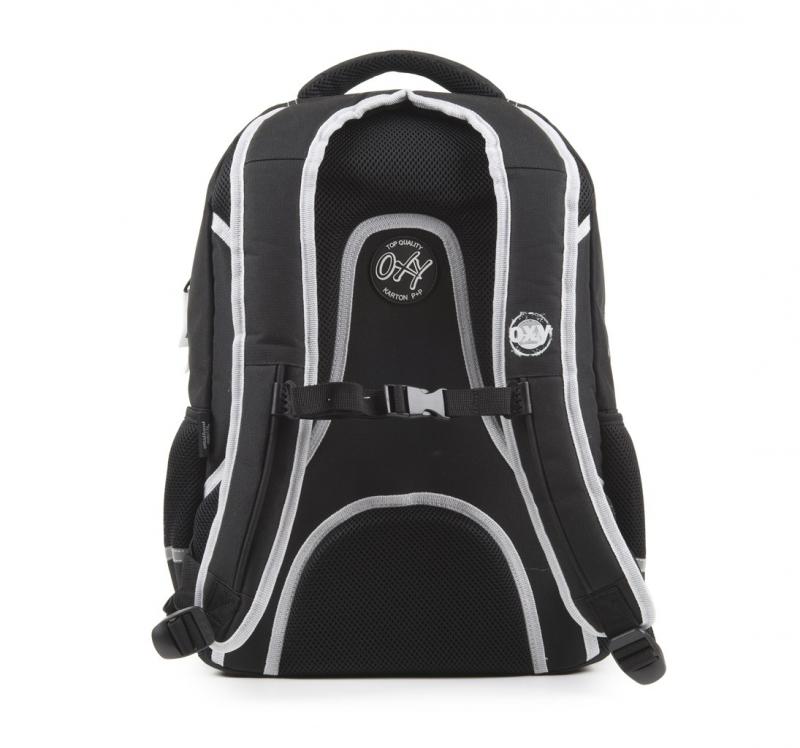 d89506fa108 Studentský batoh OXY One Wind White. Sdílet s přáteli