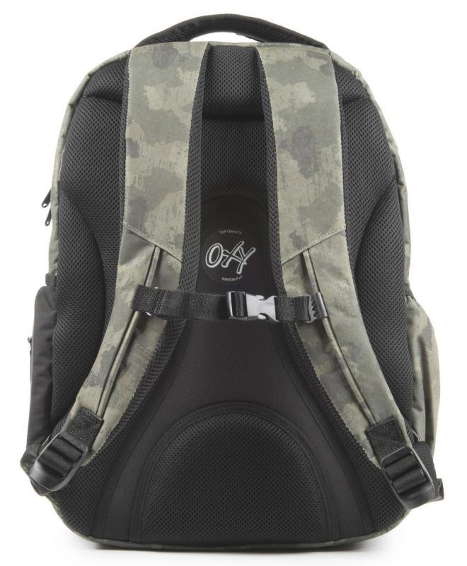 Studentský batoh OXY Style Army + dárek zdarma 56c146762d