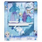Ledové království Mini panenka Elsa a ledový palác