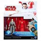 """StarWars E8 Dvě deluxe figurky 9,5 cm """"Force Link"""", více druhů"""