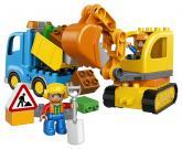 LEGO DUPLO Town 10812 Pásový bagr a náklaďák