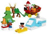 Lego DUPLO 10837 Santovy Vánoce