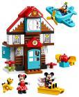 LEGO DUPLO Disney TM 10889 Mickeyho prázdninový dům
