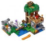 LEGO Minecraft 21146 Útok kostlivců
