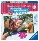 Ravensburger puzzle Máša a Medvěd 12 plast. dílků I