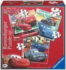 Ravensburger puzzle Cars 3v1 25-49 dílků