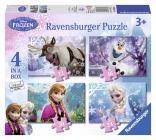 Ravensburger puzzle Ledové království  4 v1 12/16/20/24 dílků