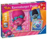Ravensburger puzzle Trollové 3 x 49 dílků