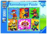 Ravensburger puzzle Tlapková patrola; 100 dílků