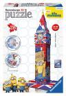 Ravensburger 3D puzzle Mimoňové Big Ben 216 dílků