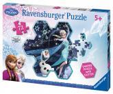 Ravensburger puzzle Disney Ledové království - Elsina sněhová vločka 73 dílků