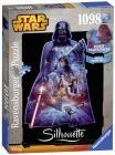 Ravensburger puzzle Star Wars Silhouette Darth Vader 1098 dílků