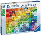 Ravensburger 99 barev 1500 dílků