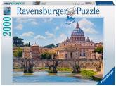 Ravensbureger puzzle Andělský most, Řím 2000 dílků