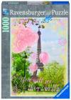 Balony a Eiffelova věž; 1000 dílků