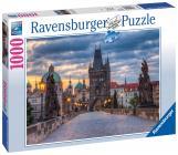 Ravensburger puzzle Praha: Procházka po Karlově mostě 1000 dílků
