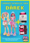 Dárek ZDARMA k nákupu panenky Barbie DTW17 nebo DTW00