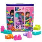 MEGA BLOKS FB PYTEL KOSTEK (80) růžový