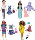 Barbie MODELKA S OBLEČKY A DOPLŇKY, více druhů