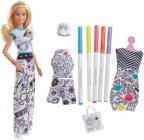 Barbie D.I.Y. CRAYOLA VYBARVOVÁNÍ ŠATŮ BĚLOŠKA