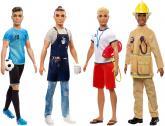 Barbie Ken povolání, více druhů