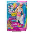 Barbie D.I.Y. CRAYOLA MOŘSKÁ VÍLA