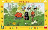 Dino Puzzle Krteček na výletě 15 dílků