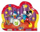 Dino puzzle Walt Disney Mickeyho kapela 25 dílků